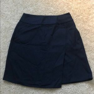 Uniqlo navy skirt